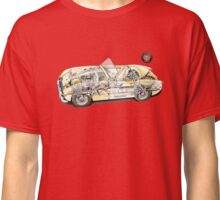Austin Healey Frogeye Sprite Cutaway Classic T-Shirt