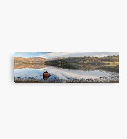 Loch Etive Panoramic Metal Print