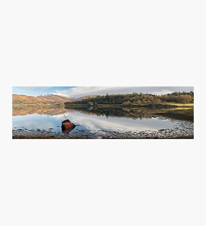 Loch Etive Panoramic Photographic Print