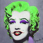 Joker Marilyn by filippobassano