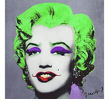 Joker Marilyn Photographic Print