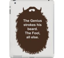 Beard-Collection - The Genius iPad Case/Skin