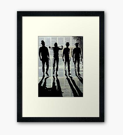 bit of the old.........(ultra violence) Framed Print