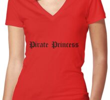 Pirate Princess Women's Fitted V-Neck T-Shirt