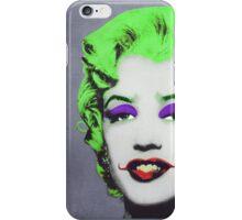 Joker Marilyn iPhone Case/Skin