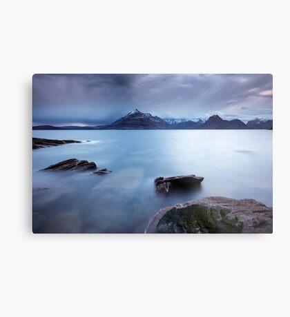 Skye Seascape Metal Print