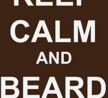 Beard-Collection - Keep Calm Sticker