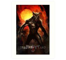 Deadman's Land Official Gear Art Print
