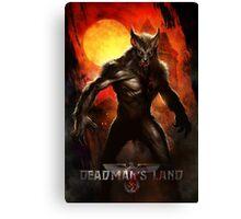 Deadman's Land Official Gear Canvas Print