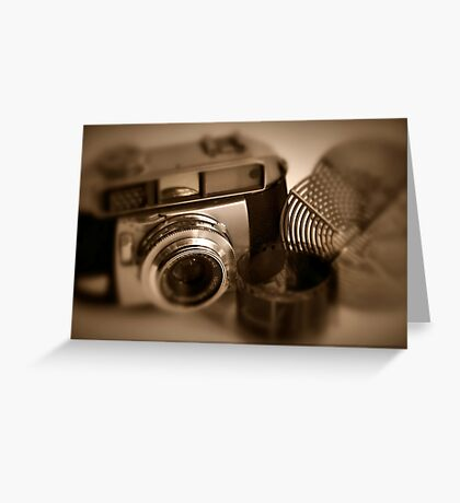Old Photography Greeting Card