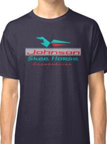 Johnson Skeehorse Vintage Snowmobiles Classic T-Shirt