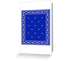Weed Bandana Greeting Card