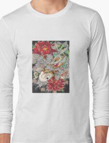 Koi dragon with koi fish Long Sleeve T-Shirt
