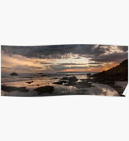 Glorious Sunset Poster
