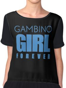Gambino Girl Forever Women's Chiffon Top