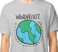 Wanderlust planet. Classic T-Shirt