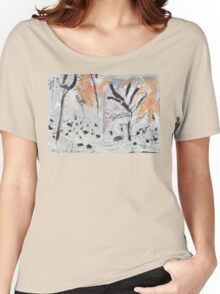 By the Bank of the Millstream Women's Relaxed Fit T-Shirt