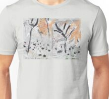 By the Bank of the Millstream Unisex T-Shirt