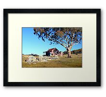 Westermans Homestead, Namadgi, ACT, Australia Framed Print