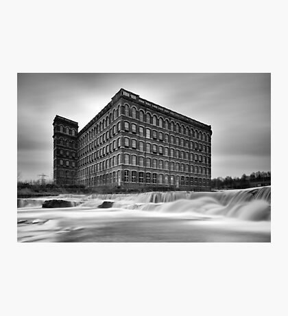 Paisley Anchor Mills Photographic Print