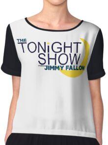 The Tonight Show starring Jimmy Fallon Chiffon Top
