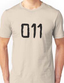 011 - Eleven Tattoo Design (Stranger Things) Unisex T-Shirt
