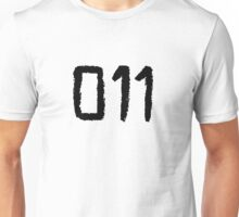 011 - Eleven Tattoo Design (Stranger Things) Unisex T-Shirt