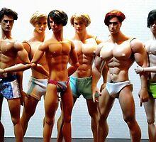 Gay Boy Dolls by TopherLee