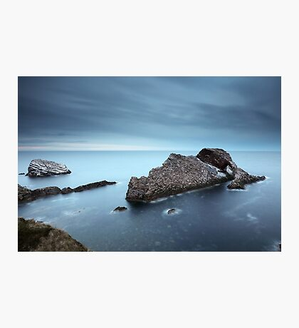 Bow Fiddle Rock Sunset Photographic Print