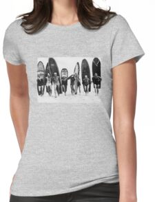 Vintage Surf I Womens Fitted T-Shirt