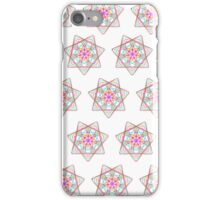 7 pointed spirograph 3 iPhone Case/Skin