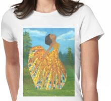 Mosaic Lady#1 Womens Fitted T-Shirt