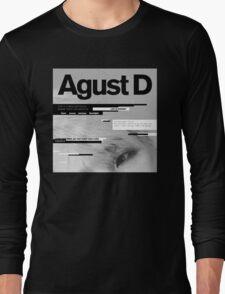 Agust D, 1st MiXTape: Agust D '1st Mixtape Cover' [t-shirts]/DTown Suga Long Sleeve T-Shirt