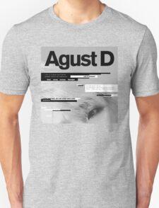 Agust D, 1st MiXTape: Agust D '1st Mixtape Cover' [t-shirts]/DTown Suga Unisex T-Shirt