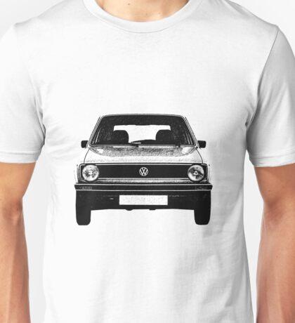 VW Golf MK1 Front Unisex T-Shirt