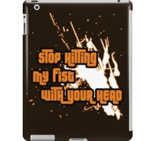 Punching My Fist iPad Case/Skin