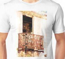 Weathered Balcony Unisex T-Shirt