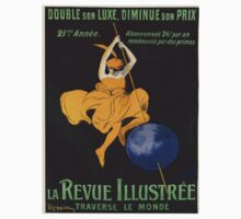 Vintage poster - La Revue Illustree One Piece - Long Sleeve