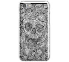 Threads of a skull! iPhone Case/Skin
