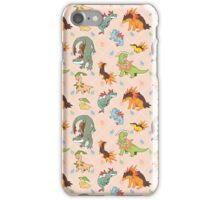 Johto Starters iPhone Case/Skin