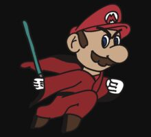 Flying Jedi Mario by Charles Caldwell