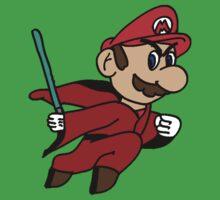 Flying Jedi Mario One Piece - Short Sleeve