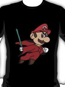 Flying Jedi Mario T-Shirt