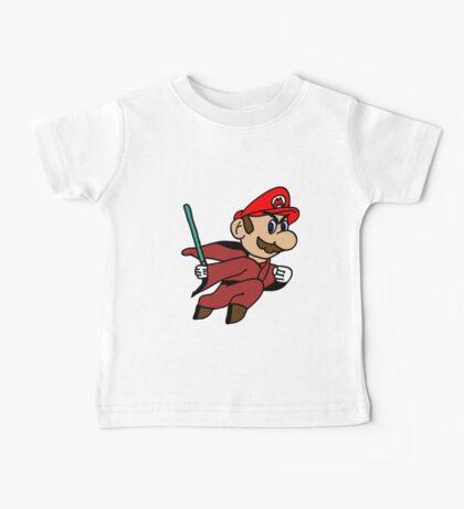 Flying Jedi Mario Baby Tee