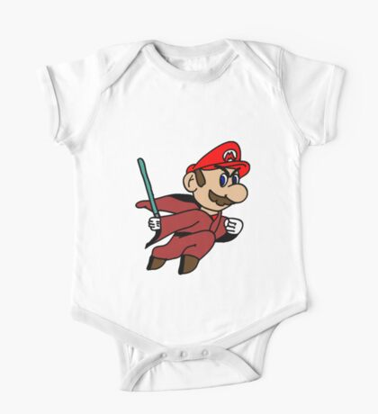 Flying Jedi Mario One Piece - Short Sleeve