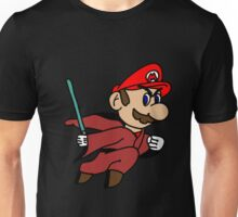 Flying Jedi Mario Unisex T-Shirt
