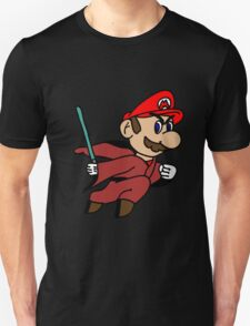 Flying Jedi Mario T-Shirt