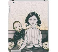 Japanese Dolls - Line iPad Case/Skin