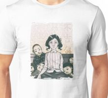 Japanese Dolls - Line Unisex T-Shirt
