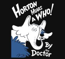 Horton Hears Doctor Who! Kids Clothes